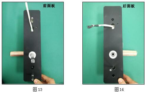 指纹锁安装