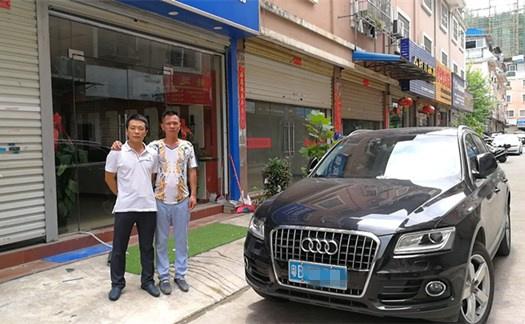 皇迪智能锁走进广西南宁:帮助经销商才是真的帮自己