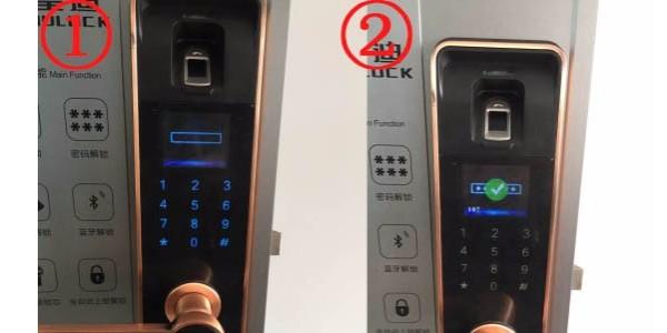 家用智能指纹锁是如何添加用户密码?